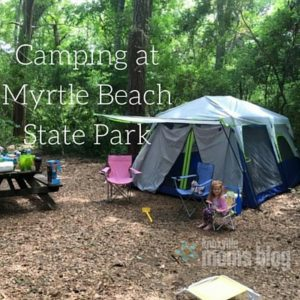 Camping atMyrtle BeachState Park