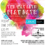 The Way Late Play Date at The Muse {Giveaway}