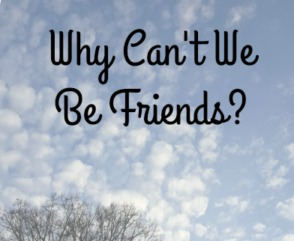 why can't we be friends featured