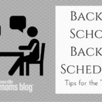 Back to School, Back to Schedules: Tips for the Transition