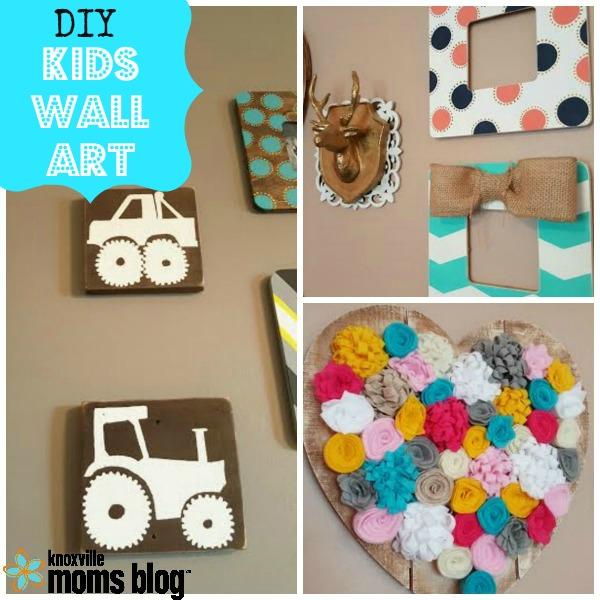 kids room wall decor Budget Friendly DIY: Kids' Room Wall Decor kids room wall decor