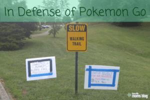In Defense of Pokemon Go
