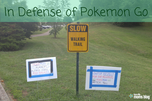 In Defense of Pokemon Go