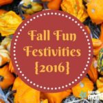 Fall Fun Festivities {2016}