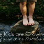 My Kids Are Growing Up, and I'm Not Sad