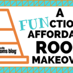 A FUNctional Affordable Room Makeover