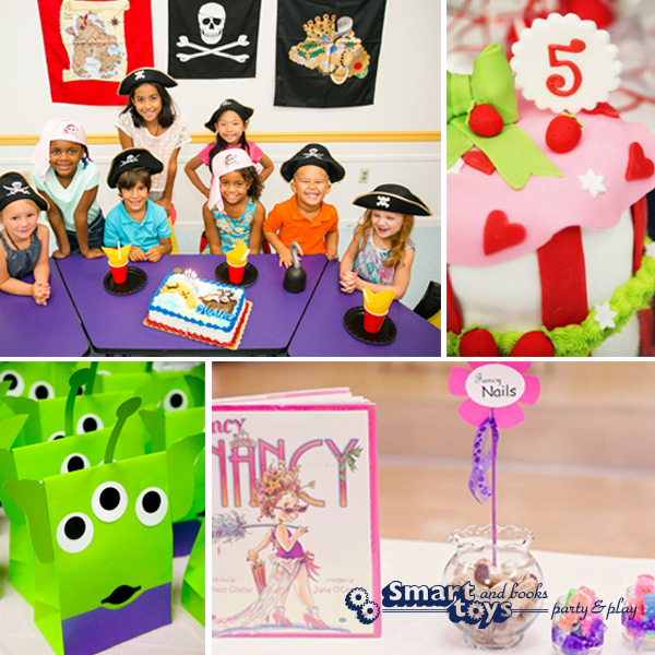 Smart Toys and Books Birthday Parties