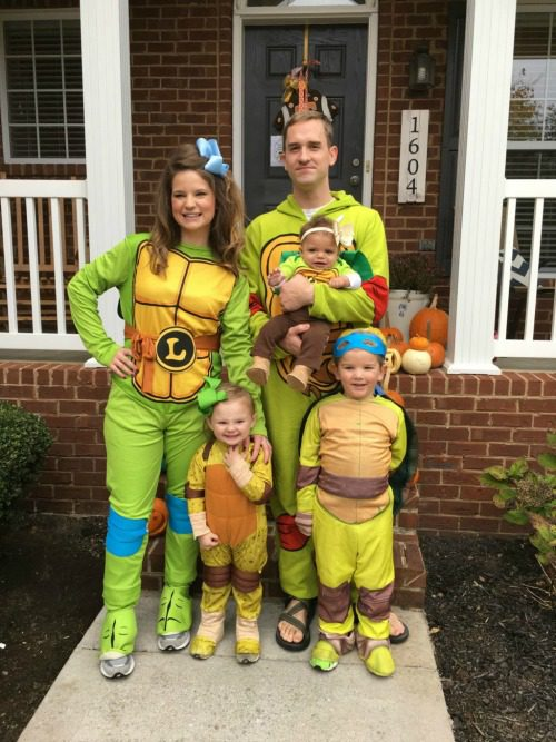 ninjaturtleslauren  sc 1 st  Knoxville Moms Blog - City Moms Blog Network & 31 Costume Ideas for Babies Kids Adults and Families
