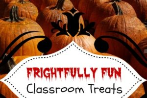 Halloween Classroom Treats