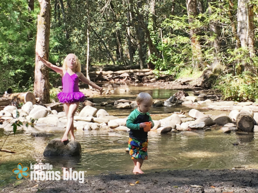 Playing in the River | Knoxville Mom's Blog