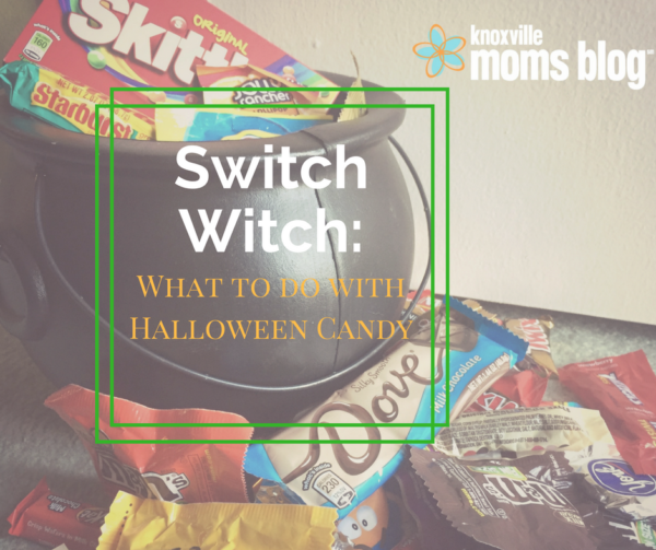 Switch Witch: What To Do With Halloween Candy