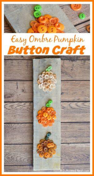 easy-ombre-pumpkin-button-craft