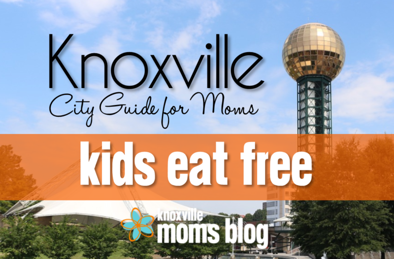 Knoxville Kids Eat Free
