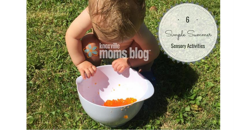 Six Simple Summer Sensory Activities