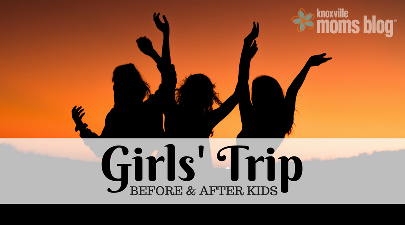 Brooke ponders the difference between girls' trips in her twenties with no kids, and trips in her thirties with a little one waiting at home!