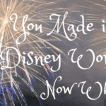 You Made It To Disney – Now What?