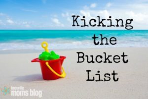 Kicking the Bucket List