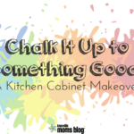 Chalk It Up to Something Good: A Kitchen Cabinet Makeover