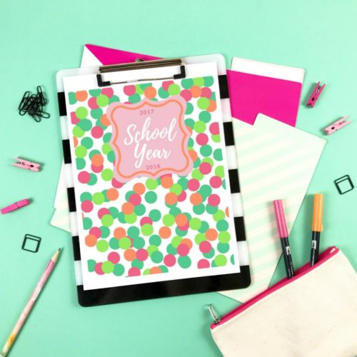 New Year New School Printable