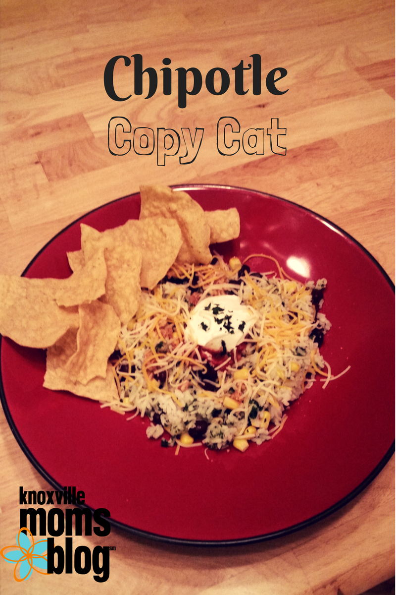 Five Meals in Five Minutes: Copycat Chipotle Bowl