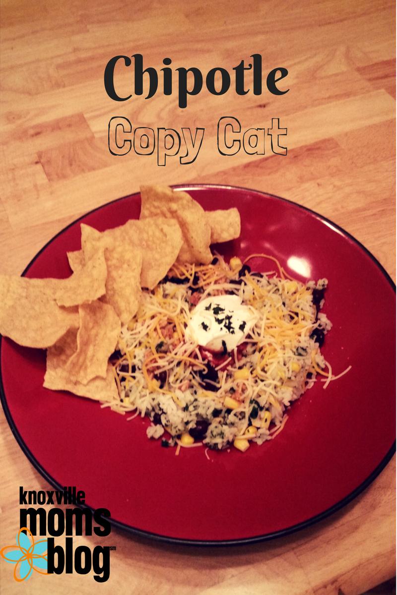 Five Meals in Five Minutes: Copycat Chipotle Bowl