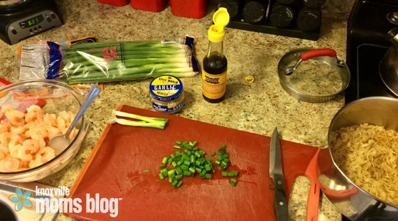 Five Meals in Five Minutes: Last Minute Shrimp