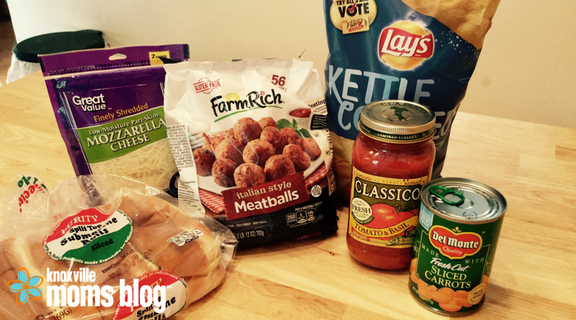 Five Meals in Five Minutes: Meatball Subs in a Snap