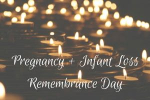 Pregnancyandinfantlossremembrancedayoctober15th