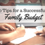 10 Tips for a Successful and Manageable Family Budget