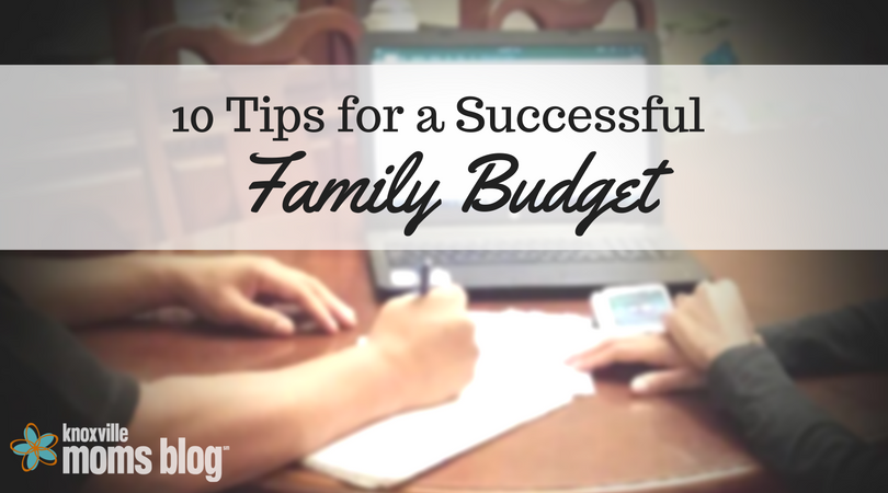10 Tips for a Successful Family Budget
