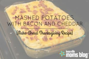 mashed potatoes with bacon and cheddar hero