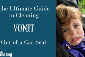 Cleaning Vomit Out of Car Seat