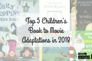 2018 children's book to movie adaptations