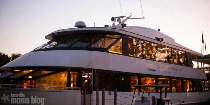 The Yacht Features Gorgeous Scenic Views Delicious Food And Dancing This Year Our Yearly Knoxville Moms Blog Birthday Bash Was Held On
