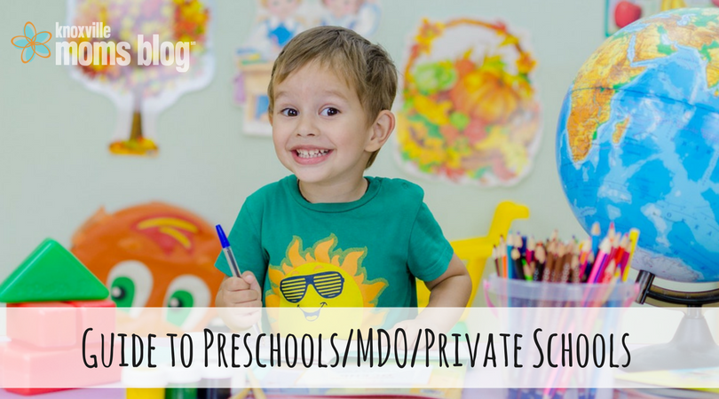 Guide to Knoxville Preschools, MDO, Private Schools