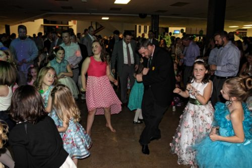 Farragut's Annual Shamrock Ball :: Father-Daughter Dance