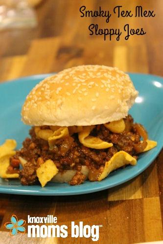 Smoky Tex Mex Sloppy Joes   knoxville.citymomsblog.com   #recipe #quickmeal #easyrecipe #maindish #beef