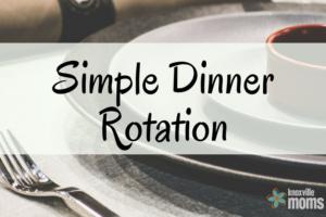 Simple Dinner Rotation