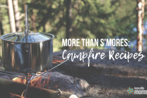 Campfire Recipes {nootsmores!}