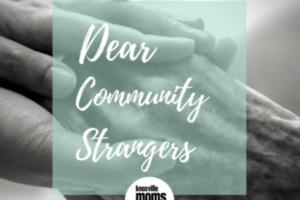Dear Community Strangers