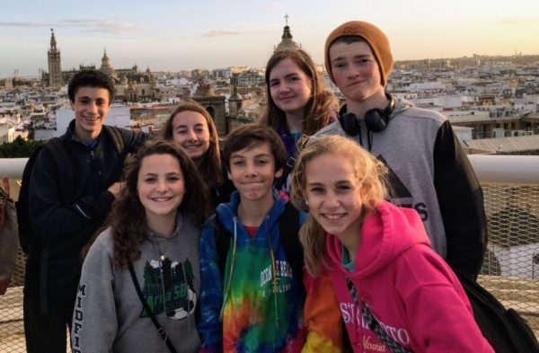Spanish students travel to Spain to practice the language and learn the culture.