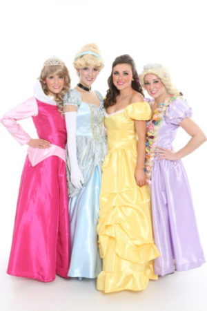 Singing Princess And Superhero Parties