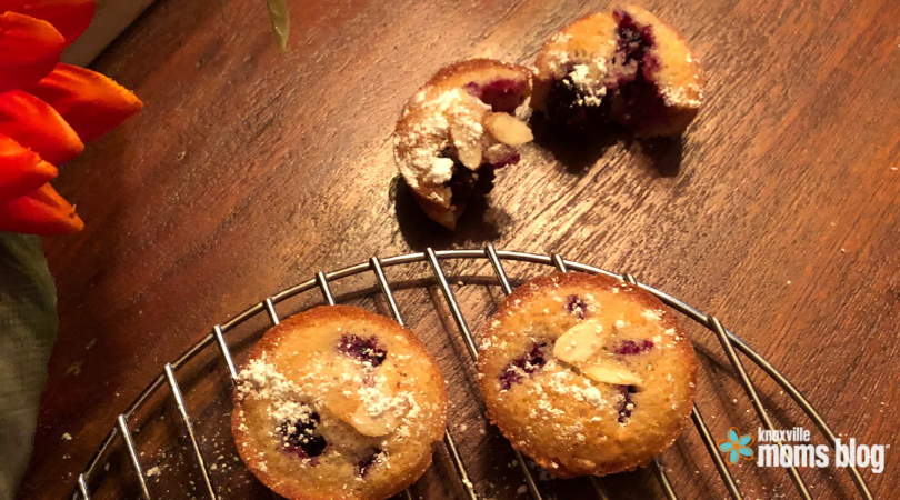 Blackberry Breakfast Cakes