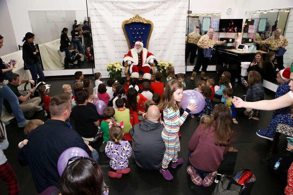 PJ Storytime with Santa