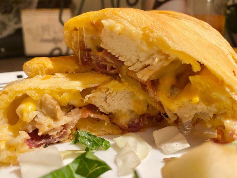 Hot Chicken Club Roll-Ups Recipe