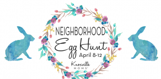 Knoxville Moms Neighborhood Egg Hunt
