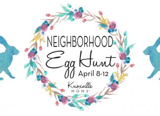 Knoxville Moms Neighborhood Egg Hunt