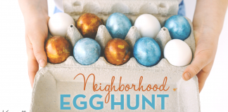 Knoxville Moms Neighborhood Egg Hunt Free Printable