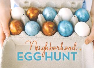 Knoxville Moms Neighborhood Egg Hunt Free Printable