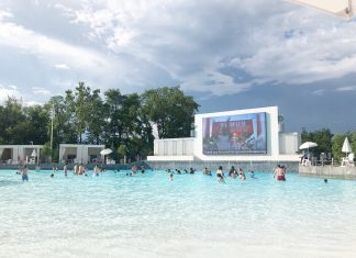 Tidal Wave Pool at SoundWaves